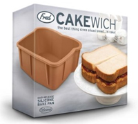 See the Cakewich Silicone Baking Pan on Amazon