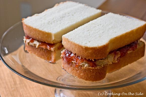Pound Cake Ice Cream Sandwich