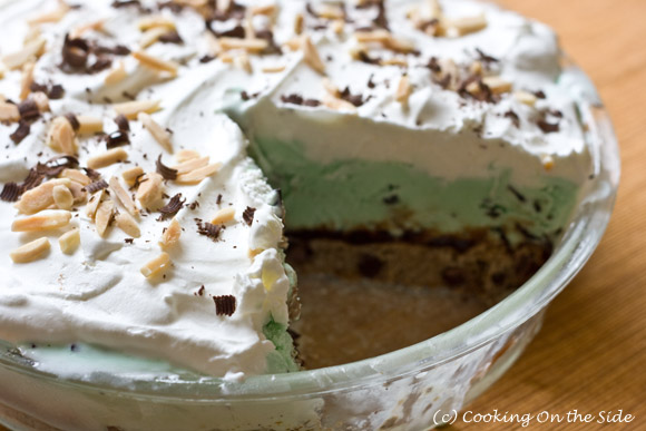 Ice Cream Cookie Pie