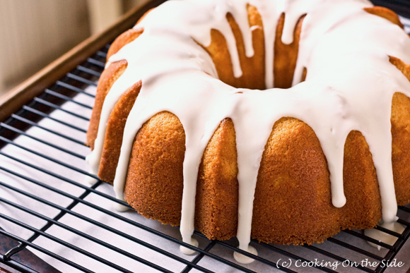 Meyer Lemon Whipping Cream Pound Cake