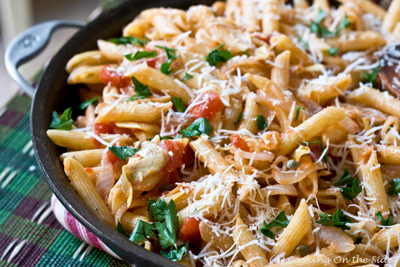 Post image for Penne with Artichokes…and How I Started This Blog