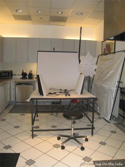 The photo area