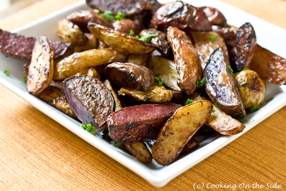 Post image for Balsamic Roasted Fingerling Potatoes