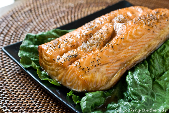 Post image for Cedar Planked Salmon with Brown Sugar
