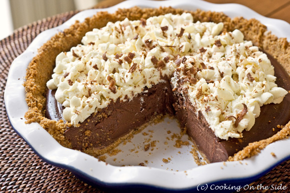 Chocolate Cream Pie with Cinnamon & Ancho Chile