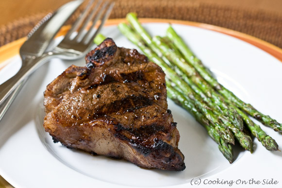 Post image for Balsamic Marinated Lamb Chops