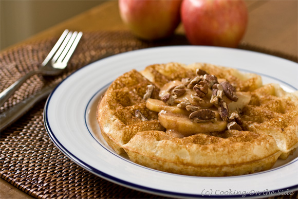 Post image for Overnight Belgian Waffles + a Waffle Skillet Giveaway!