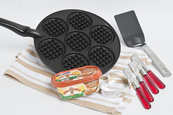 Waffle Skillet giveaway, sponsored by Land O Lakes