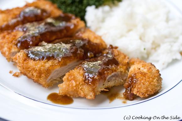 Japanese Pork Katsu (Tonkatsu) Recipe | Cooking On the Side