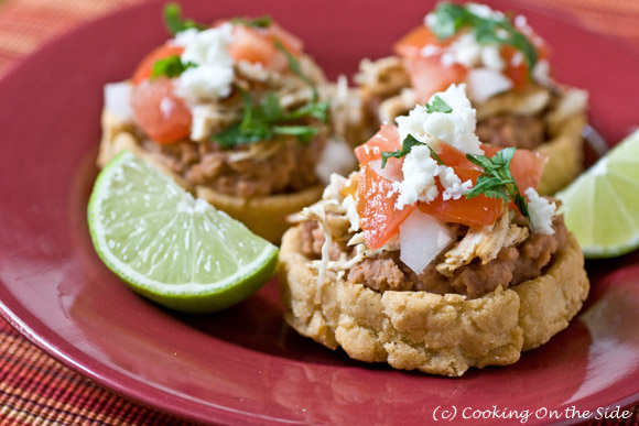 Sopes recipe cooking on the side post image for mexican chicken sopes forumfinder Gallery