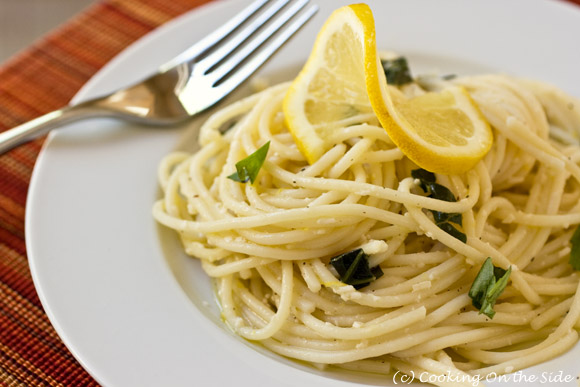 Lemon Spaghetti Recipe by Giada De Laurentiis | Cooking On the Side