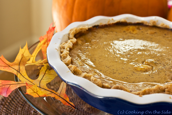 Post image for Chai Pumpkin Pie