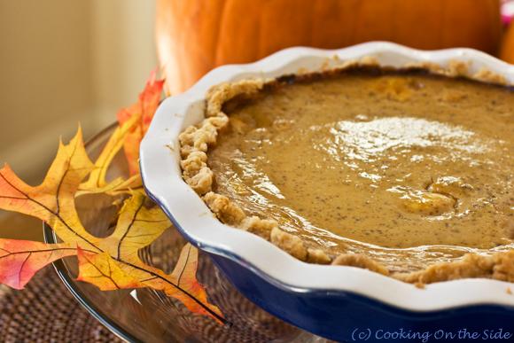 Post image for Chai Pumpkin Pie