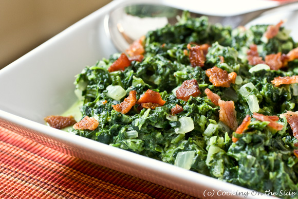 Post image for Creamed Spinach with Bacon