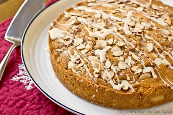 Post image for Almond Brickle Coffee Cake…and a Virtual Holiday Potluck Brunch