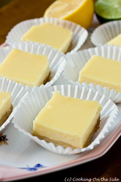 Creamy Lemon-Lime Bars