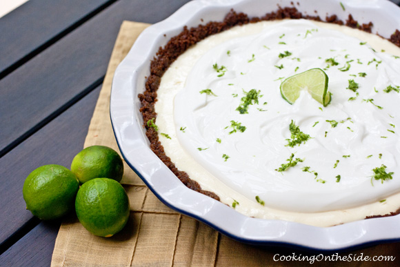 Key Lime Greek Yogurt Pie