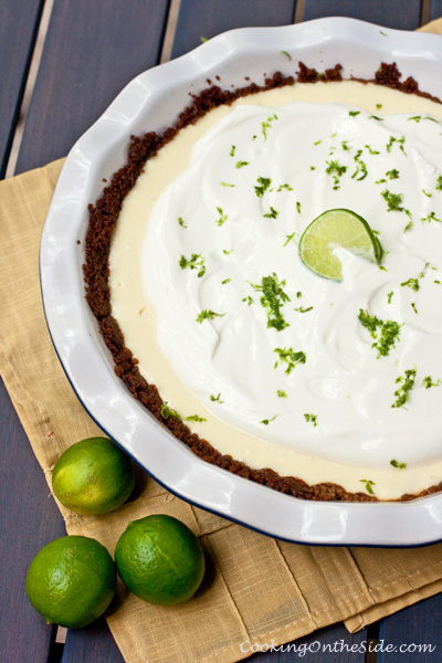 Post image for Key Lime Greek Yogurt Pie