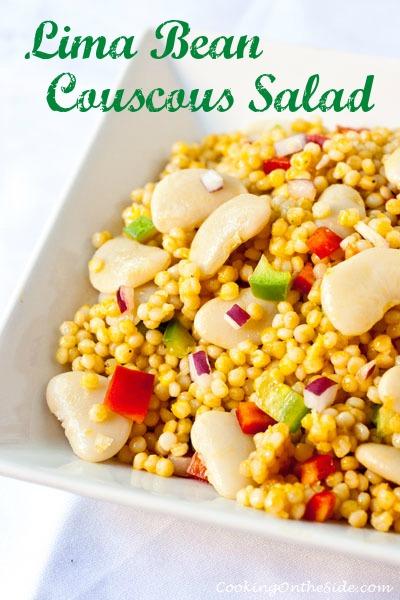 Post image for Lima Bean Couscous Salad