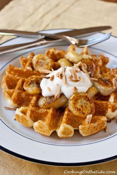 Post image for Caramelized Banana Waffles