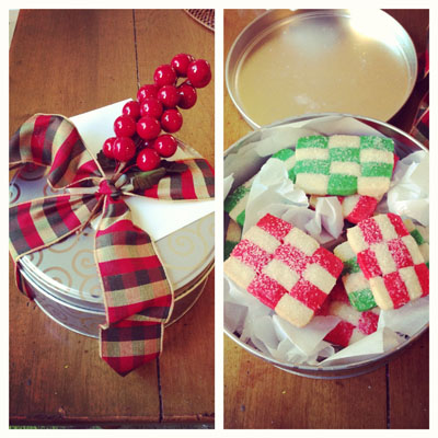 Checkerboard Cookies from Authentic Suburban Gourmet