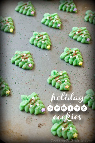 Post image for Holiday Spritz Cookies