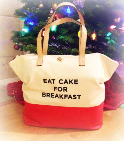 Eat Cake for Breakfast Tote from Kate Spade