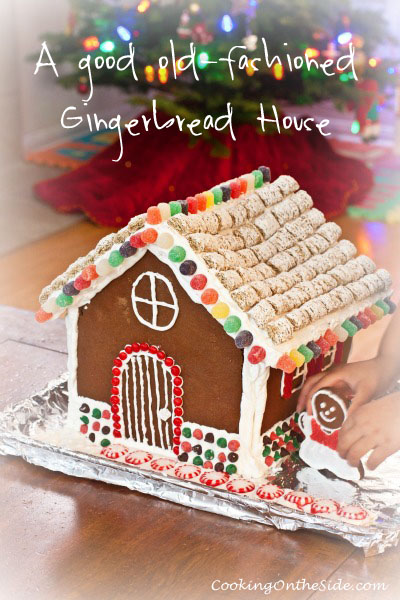 A good old-fashioned Gingerbread House