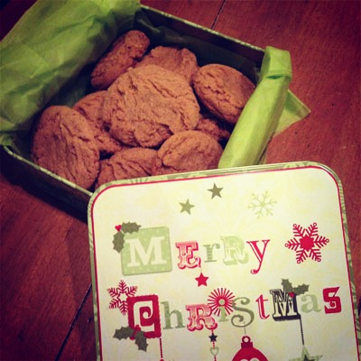 Spiced Rum Cookies from My Baking Heart