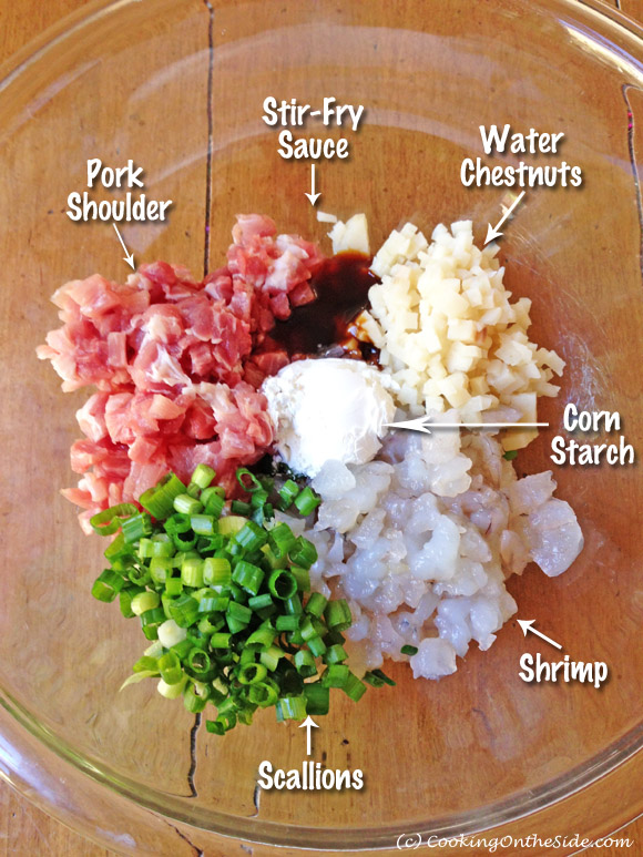 Wonton Ingredients