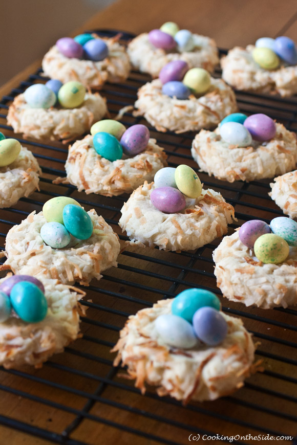 Post image for Easter Bird's Nest Cookies