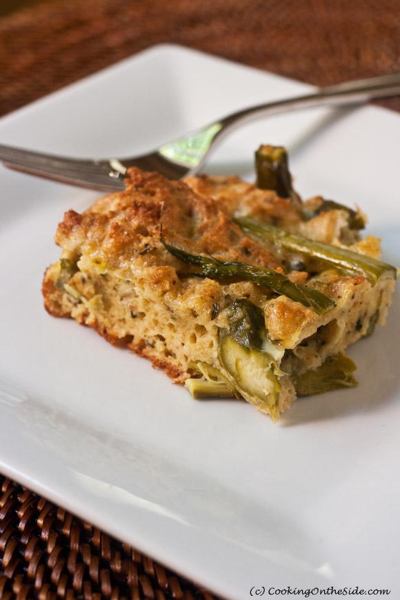 Asparagus Torta