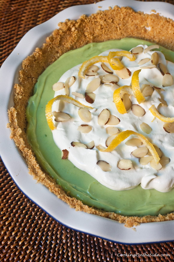 Post image for Avocado Icebox Pie