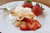 Cream Biscuit Strawberry Shortcake