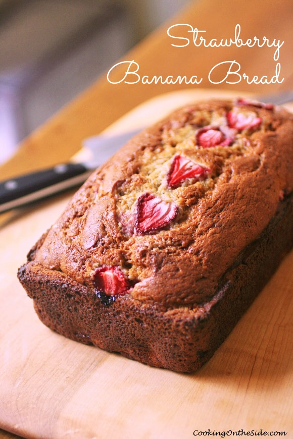 Post image for Strawberry Banana Bread