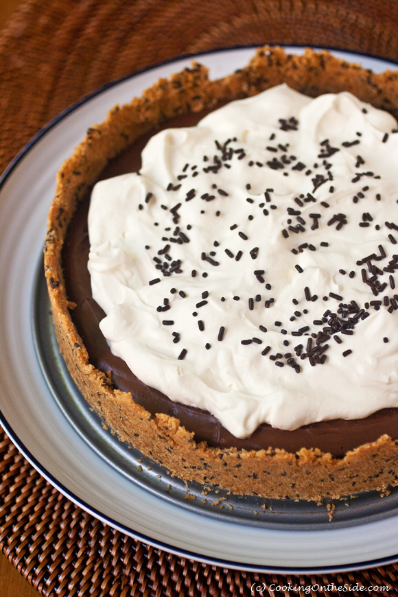 Recipe: Chocolate Pudding Pie | Cooking On the Side