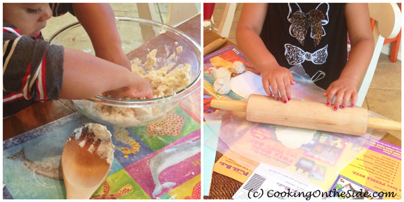 My kids loved making tortillas