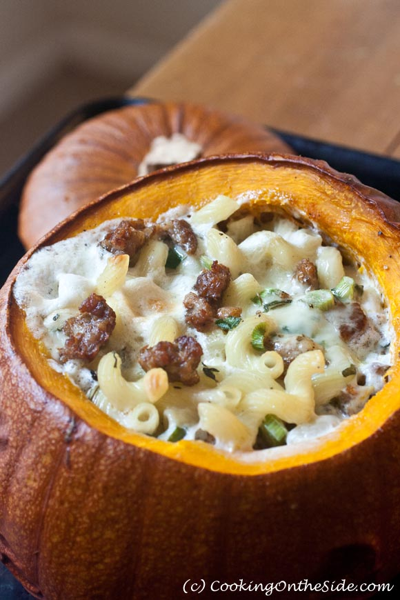 Mac & Cheese in a Pumpkin...from Melt: The Art of Macaroni and Cheese