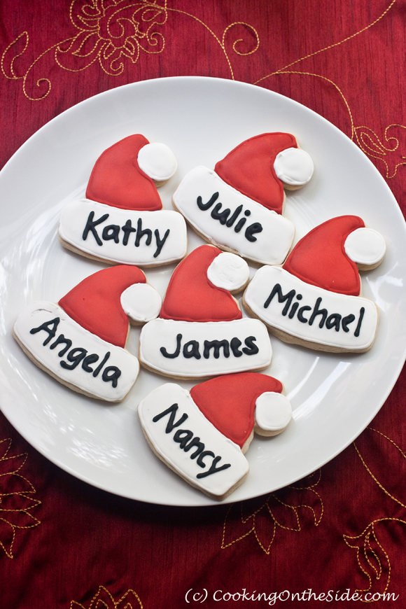 Post image for IDEA: Christmas Cookie Place Cards