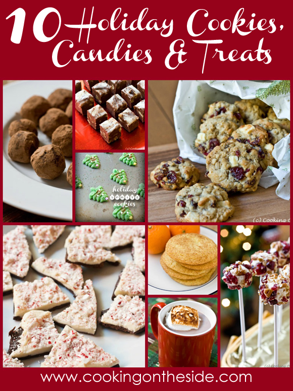 Post image for 10 Holiday Cookies, Candy and Treats