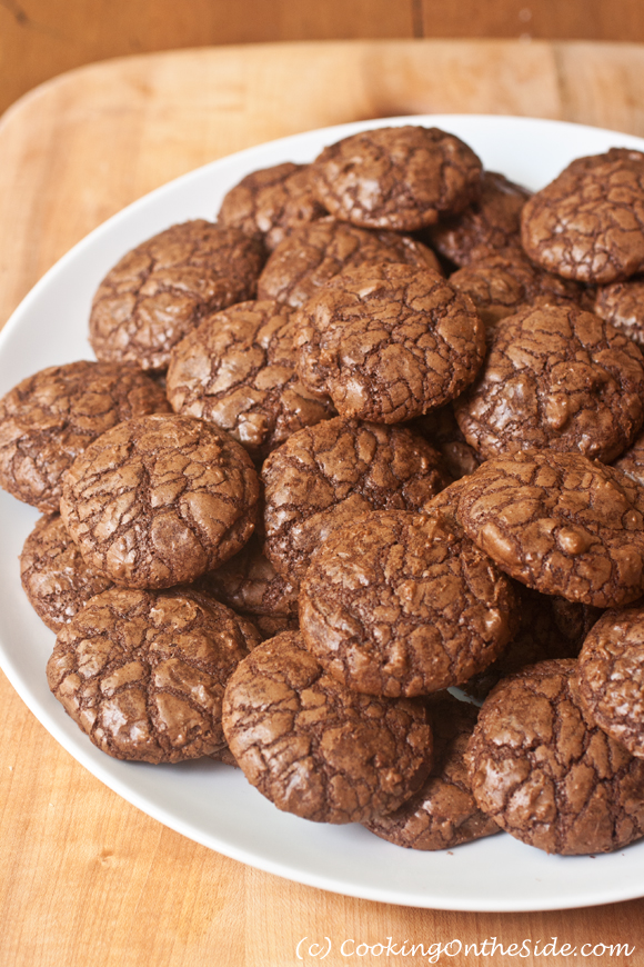 Mexican Chocolate Crackled Cookies