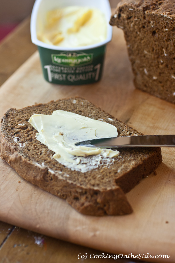 Guinness Bread...warm homemade brown bread and soft butter is one of life's simple pleasures!