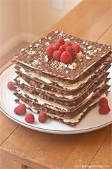 9-Layer No-Bake Matzo Cake